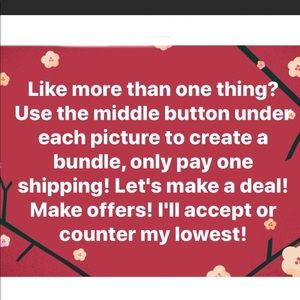 Other - Liking is nice👍 but making offer is extra nice👍